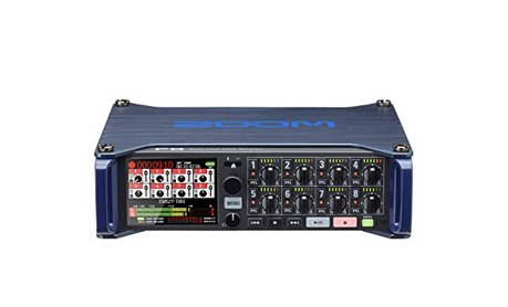 Zoom F8 audio recorder and mixer